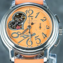 Zenith El Primero Chronomaster Lady Steel 37.5mm Orange Arabic numerals
