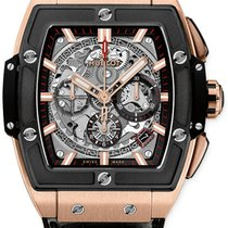 Hublot Rose gold Automatic Transparent No numerals 42mm new Spirit of Big Bang