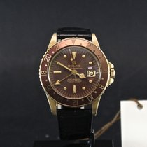 Rolex 1675 Yellow gold 1977 GMT-Master 40mm pre-owned