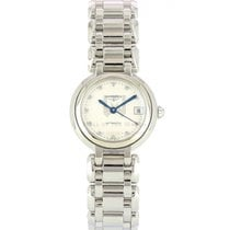 Longines Steel Automatic Mother of pearl 26.5mm new PrimaLuna