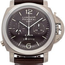 Panerai Luminor 1950 8 Days Chrono Monopulsante GMT PAM00311 neu