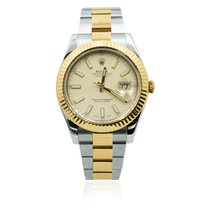 Rolex 116333 Gold/Steel 2016 Datejust II 41mm pre-owned United States of America, Michigan, Southfield