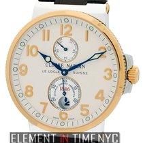 Ulysse Nardin Marine Chronometer 41mm Золото/Cталь 41mm Cеребро Aрабские