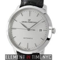 Girard Perregaux 1966 Steel 40mm Silver United States of America, New York, New York