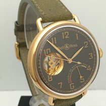 Bell & Ross WW1 Edición Limitada 42mm 18K Rose Gold Mens...