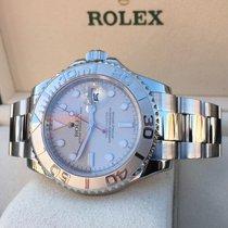 Rolex Oyster Yacht-Master Grey Dial Platin Bezel 40 mm (2008)