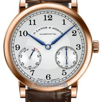 A. Lange & Söhne 1815 Rose gold 39mm Silver United States of America, New York, Airmont