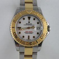 Rolex Yachtmaster 35mm Stahl Gold 168623  LC100