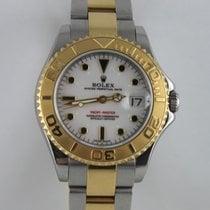 勞力士 Yachtmaster 35mm Stahl Gold 168623  LC100