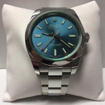 Rolex Milgauss 116400 blue dial stainless steel