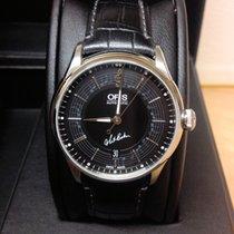 Oris Artelier Date Steel Black No numerals United Kingdom, Wilmslow