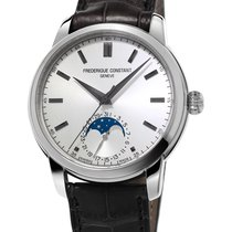 Frederique Constant MANUFACTURE CLASSIC MOONPHASE Steel-Silver...