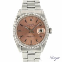 Rolex Oyster Perpetual Airking/Date Diamonds
