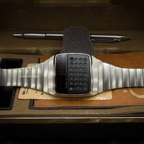 Hewlett-Packard 1977  HP-01 Claculator LED Digital Quartz