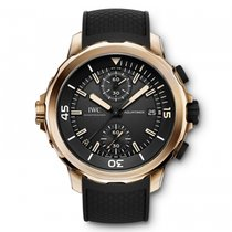 IWC IW379503, Aquatimer Chronograph, Black Dial, Bronze&Le...
