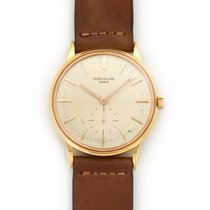 Patek Philippe Rose Gold Calatrava Watch Ref. 3425 with...