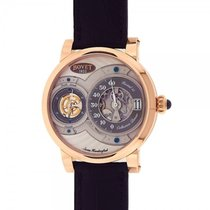 Bovet Dimier Recital 15 18k Rose Gold Grey Dial Mechanical...