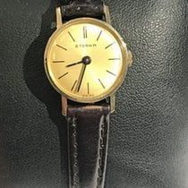 Eterna Yellow gold 19mm Manual winding pre-owned