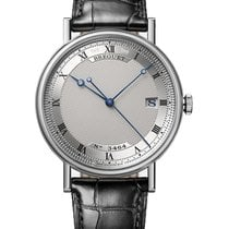 Breguet 38mm Automatic pre-owned Classique Silver