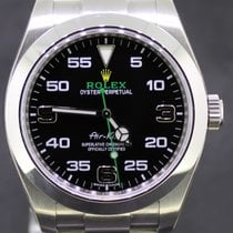 Rolex Air King Steel 40MM Black Dial New Model, Full Set 116900