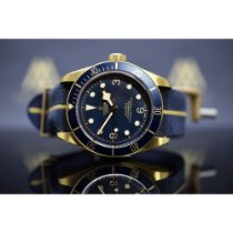 "Tudor Black Bay Bronze ""Blue Editions Bucherer"""