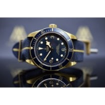 "Tudor Black Bay Bronze ""Blue Edition Bucherer"""