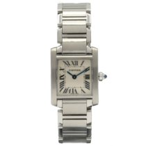 Cartier Tank Francaise Automatic Womens Watch W51008Q3