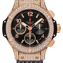 Hublot Big Bang 41 mm neu Automatik Chronograph Uhr mit Original-Box und Original-Papieren 341.PX.130.RX.174