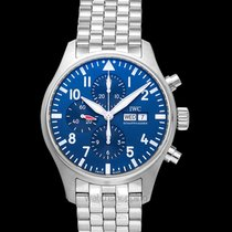 IWC Pilot Chronograph Steel 43.00mm Blue United States of America, California, San Mateo