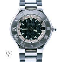 Cartier 21 Must de Cartier usados 37mm Acero