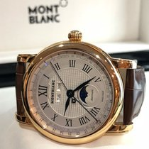 Montblanc Rose gold Automatic 41mm pre-owned Star