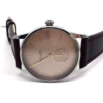 NOMOS Orion new 2018 Manual winding Watch with original box and original papers 352 Orion rose Glasboden Occasion