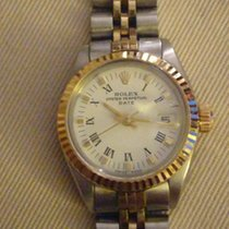 Rolex Oyster Perpetual Lady Date Gold/Steel 26mm No numerals Australia, Watsonia