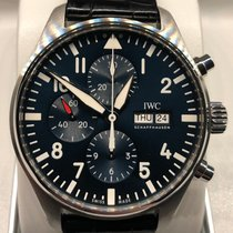 IWC IW377714 Steel 2016 Pilot Chronograph 43mm pre-owned United States of America, New York, New York