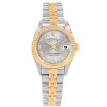 Rolex Lady-Datejust Staal 26mm Romeins