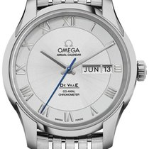 Omega De Ville Co-Axial Steel 41mm Silver Roman numerals United States of America, California, Moorpark