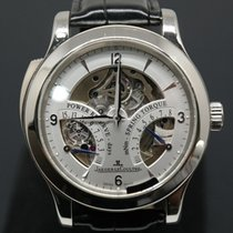 Jaeger-LeCoultre Master Minute Repeater Platinum 43mm Silver (solid) Arabic numerals