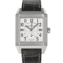 Jaeger-LeCoultre Reverso Squadra Hometime Steel 35mm Silver Arabic numerals United States of America, Maryland, Baltimore, MD