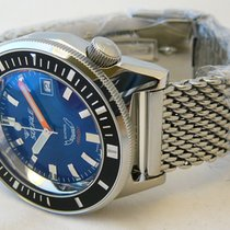 Squale Steel 44mm Automatic MATIC-BLUE new