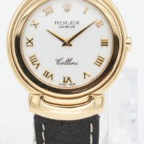 Rolex Cellini Sárgaarany 33mm Fehér Római