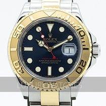Rolex Yacht-Master 40 Guld/Stål 40mm Blå Sverige, Stockholm
