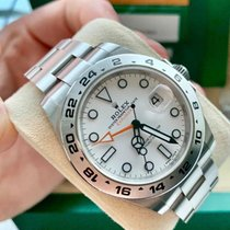 Rolex Explorer II Steel 42mm No numerals United States of America, New Jersey, Totowa