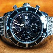 Breitling Superocean Héritage Chronograph Stahl 46mm Schwarz Keine Ziffern Deutschland, Hemmingen