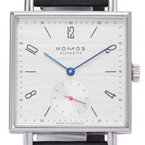 NOMOS Tetra Neomatik pre-owned 33mm Leather