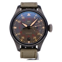 万国 Big Pilot Top Gun Miramar IW501902 非常好 陶瓷 48mm 自动上弦