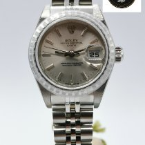 Rolex Oyster Perpetual Lady Date nouveau 2002 Remontage automatique Montre avec coffret d'origine et papiers d'origine 79240