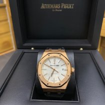 Audemars Piguet Rose gold 41mm Automatic 15400or.oo.d088cr.01 pre-owned