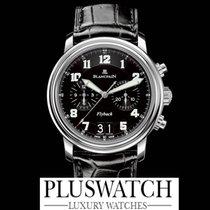Blancpain Léman Flyback Chronograph Grande Date Black Dial G