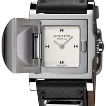 Hermès Médor Steel 24mm White United States of America, New York, Airmont