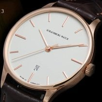 Lindburgh + Benson Rose gold 40mm Automatic Red new